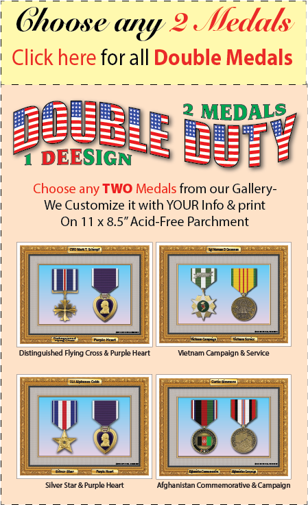 Double Duty Medals