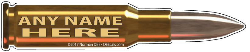 Bullet - No. 11 bullet, bullets, round, rounds, shot, shots, custom, customized, personalized