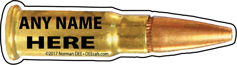 Bullet - No. 14 bullet, bullets, round, rounds, shot, shots, custom, customized, personalized