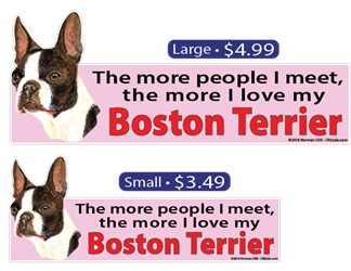 ... The More I Love My Boston Terrier BostonTerrier, BostonTerriers, Boston, Terrier, Terriers, dog, dogs, love, my