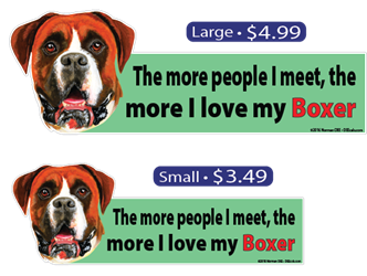... The More I Love My Boxer Boxer, Boxers, dog, dogs, pet, pets, love, loves, my