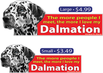 ... The More I Love My Dalmation dalmation, dalmations, dog, dogs, love, my