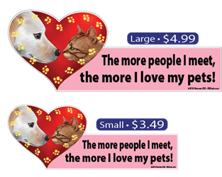 ... The More I Love My Pets pets, pet, dog, dogs, cat, cats, love, my